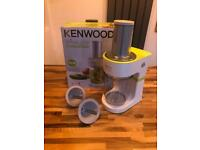 Kenwood Spiralizer with 2 cutters and box