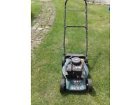 HAYTER 375 EASY START PETROL LAWNMOWER ADJUSTABLE CUT HEIGHT NO BOX EASY PULL