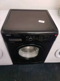 Beko washing machine - black, with warranty and fast delivery