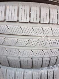 Jag XF 4 WINTER TYRES FOR SALE - ASAP