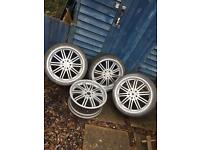 "19"" VW alloys 4x112"