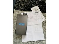 Samsung galaxy Note 8 unlocked sealed with receipt Midnight Black not an apple iPhone