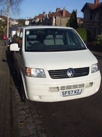 VW T5 ShuttleBus with 9 seats