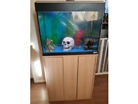 fish tank 90ltr and stand