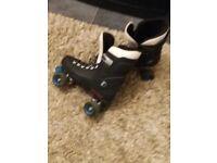 Bauer roller skates size 8