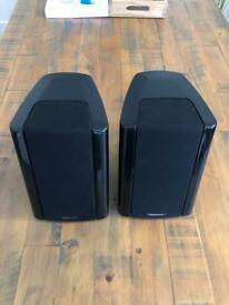 MONITOR AUDIO SLANTED SPEAKERS IN EXCELLENT CONDITION - PRICED REDUCED