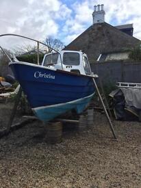 Boat 18' Vetus diesel