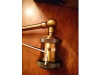 **Updated reduced**Netboat brass wall light