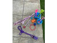 Children's outdoor toys, garden, beach toys