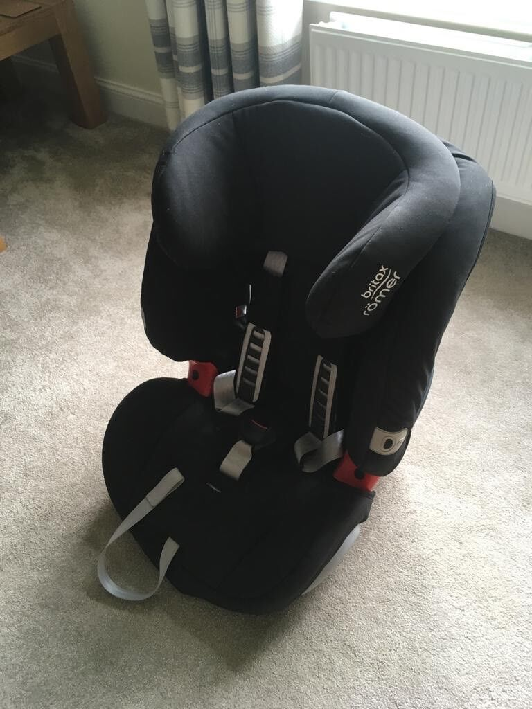 Britax Evolva 1 2 3 Car Seat For Sale In South Queensferry