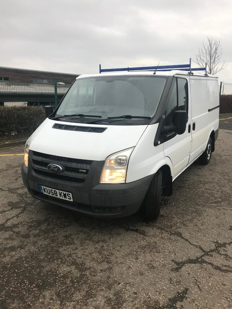 2008 White Ford Transit Van