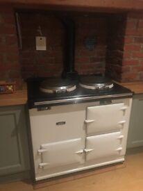 Traditional Oil Aga range cooker