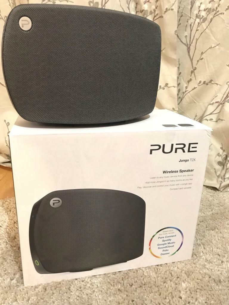 BOXED - Pure Jongo T2x Multiroom, WiFi, Blootooth Speaker - Alexa