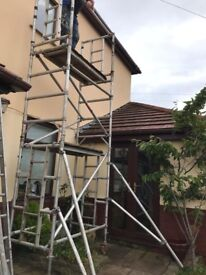 Alloy Scaffolding Tower