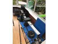 V-fit rowing machine £40