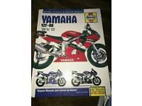 Haynes Manual Yamaha YZF R6 1999 - 2002