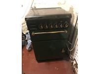 Rangemaster free standing gas cooker