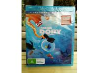 DISNEY BLU RAY FINDING DORY 2 DISC COLLECTORS EDITION ONLY £4.99 BRAND NEW SEALED
