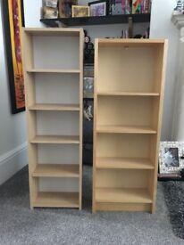 2 DVD/CD Shelves, £5 for both!