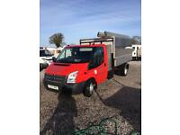 2013 ford 350 transit tipper 155bhp arb body