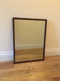 Vintage cast iron mirror for sale