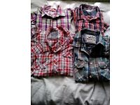 Large quantity mixed clothes/shoes/household inc shop clothes rail
