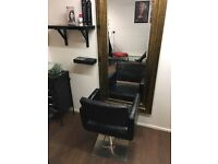 Chair available to rent in a busy Salon in Eccles