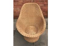 Large basket chair