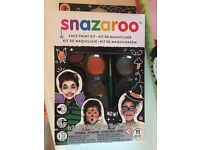Snazaroo brand new face paints