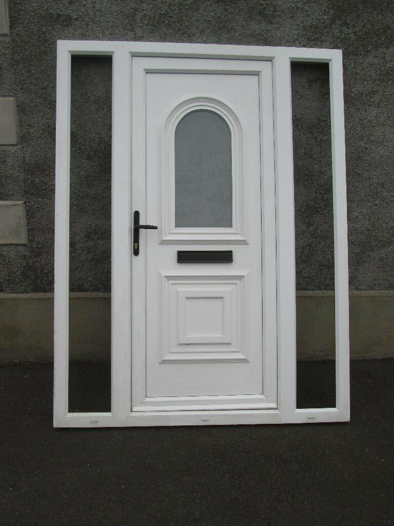 Second Hand White Pvc Door Side Screens 2090 X 1600 In Moira
