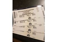 4 x Premier League Darts tickets Manchester Arena