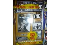 The Classic John Wayne Collection Magazine and DVD over 70 in total unopened