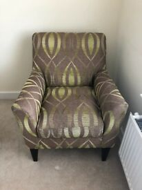 Next chair and footstool