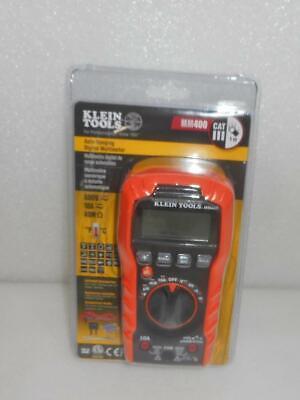 New Klein Tools Mm400 600v 10a Auto-ranging Digital Multimeter