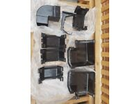 Black guttering spare parts brand new
