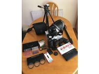 Pentax K50 Digital SLR Camera Package including additional Lenses, Filters and Accessories