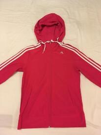 Adidas zip hoodie size 12-14