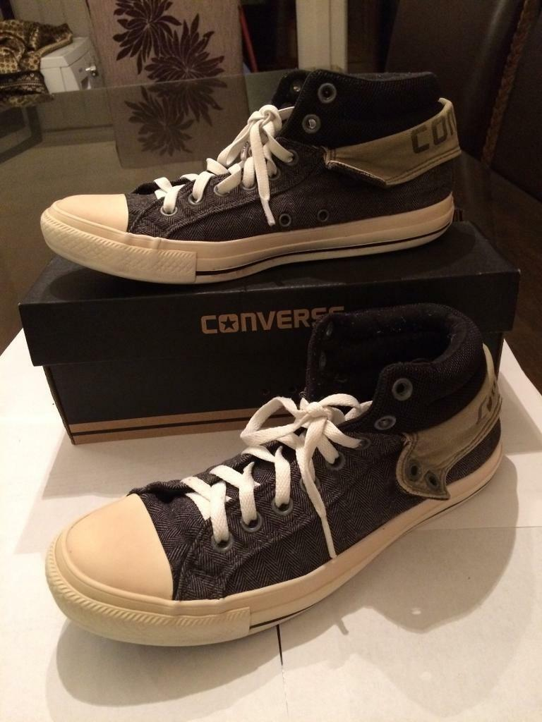 Converse Trainers Grey men's size 8