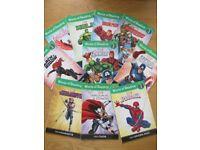 Marvel DK level 1 reader 10 book set