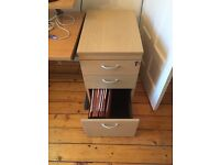 Office chest of draws - including filing draw