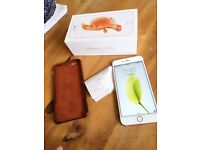 iPhone 6S Plus (16Gb) as new with warranty and case candy