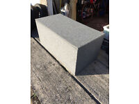 Grey carpeted box to fit in back of VW T5.