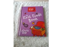 Weaning Book brand new