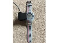 Garmin Forerunner 110 GPS Running watch in grey/pink with heart rate monitor