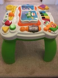 LeapFrog Learn & Groove Activity Table COLLECT IP33 or E11