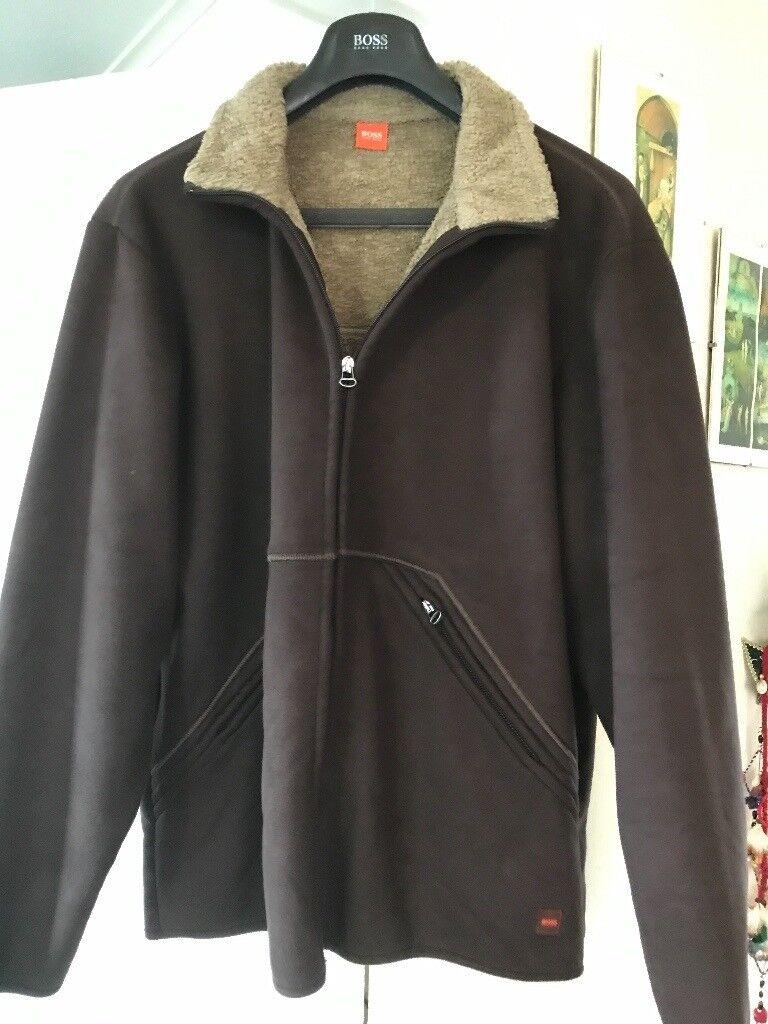 f15ee9a92 Mens Hugo Boss Faux Sheepskin Jacket size 48