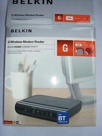 Belkin G Wireless Modem Router F5D7634 – 4A v2