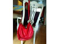 Various good quality italian and not leather bags. Various prices.
