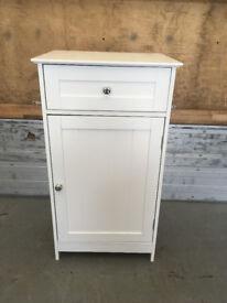 Bath Vida 1-Door 1-Drawer Floor Standing Cabinet Drawer/Unit Storage Bathroom