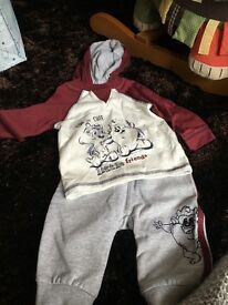 Baby boy clothing different sizes